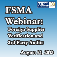 Foreign Supplier Verification and 3rd Party Audits